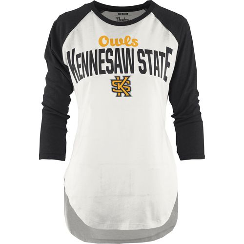Three Squared Juniors' Kennesaw State University Quin Short T-shirt