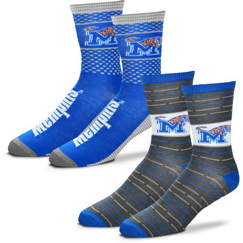 For Bare Feet Men's University of Memphis Father's Day Socks