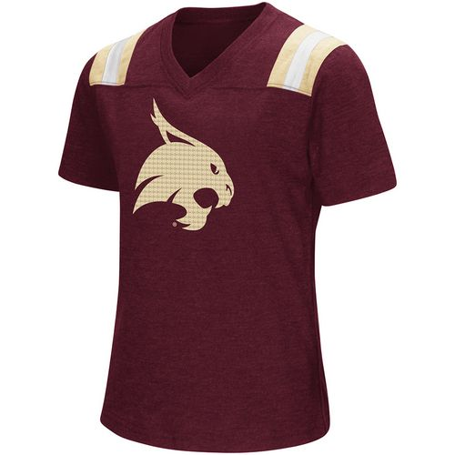 Colosseum Athletics Girls' Texas State University Rugby Short Sleeve T-shirt - view number 1