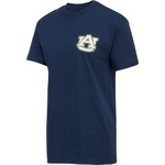 New World Graphics Women's Auburn University Logo Aztec T-shirt - view number 3
