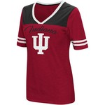 Colosseum Athletics Women's Indiana University Twist 2.1 V-Neck T-shirt - view number 1