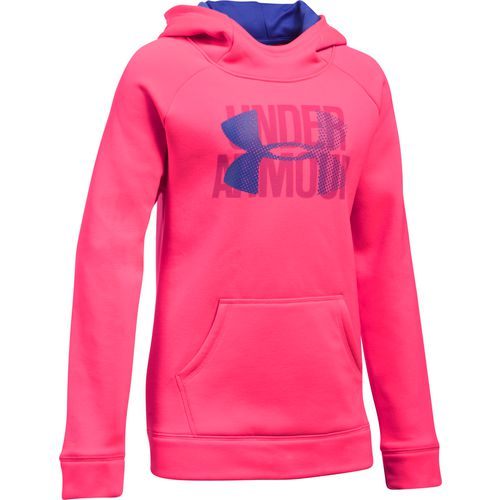 Under Armour Girls' Big Logo Fleece Hoodie