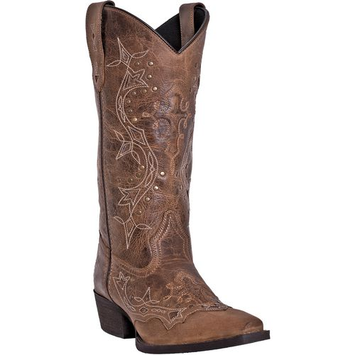Laredo Women's Cross Point Leather Western Boots - view number 1