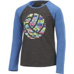 BCG Girls' Volleyball Raglan Long Sleeve T-shirt - view number 3