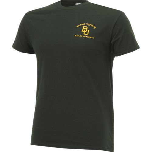 New World Graphics Men's Baylor University Friends Stadium T-shirt - view number 3