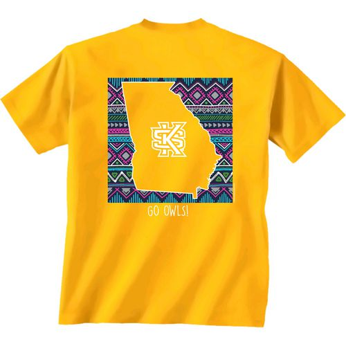 New World Graphics Women's Kennesaw State University Terrain State T-shirt - view number 1