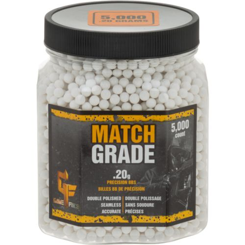 Crosman Match Grade 0.20 g Biodegradable BBs 5,000-Pack