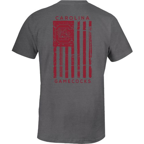 Image One Men's University of South Carolina Distressed Flag T-shirt