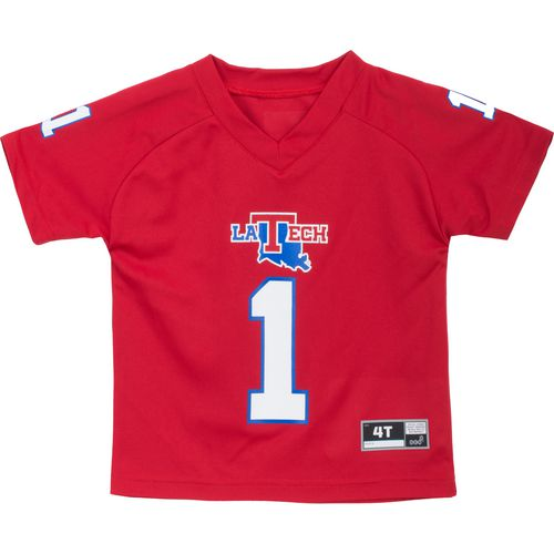 Gen2 Toddlers' Louisiana Tech University Football Jersey Performance T-shirt