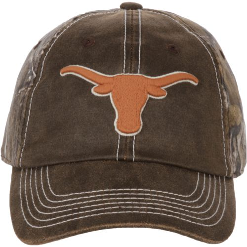We Are Texas Men's University of Texas Realtree Duck Wax Cap
