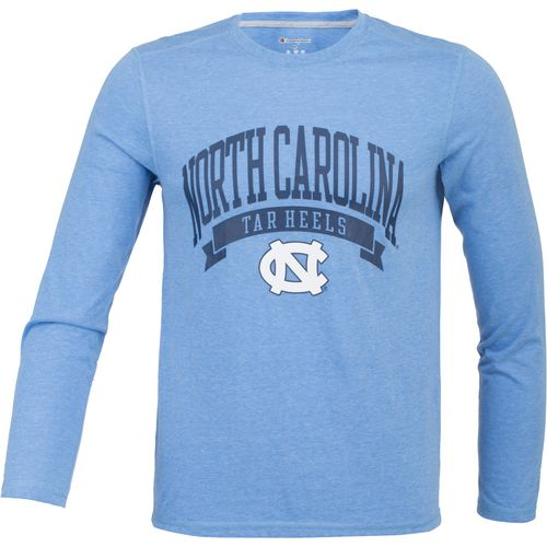 Champion Men's University of North Carolina In Pursuit Long Sleeve T-shirt