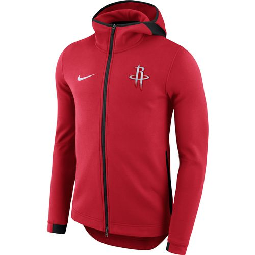 Nike Men's Houston Rockets Showtime Full Zip Hooded Jacket