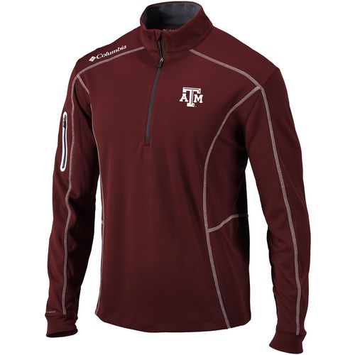 Columbia Sportswear Men's Texas A&M University Shotgun 1/4 Zip Pullover