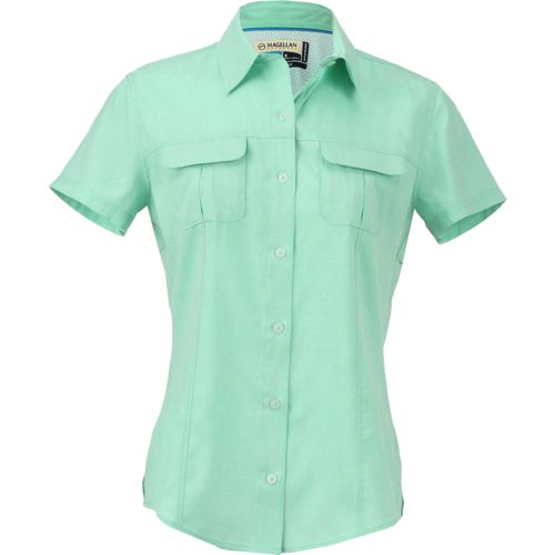 Magellan Outdoors Women's Aransas Pass Heathered Fishing Top