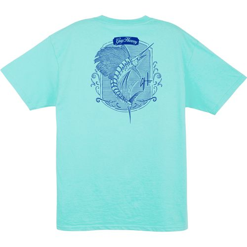 Guy Harvey Men's Atoll Pocket T-Shirt