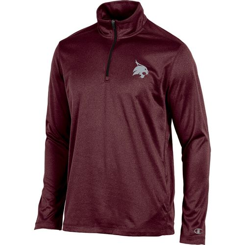 Champion Men's Texas State University Victory 1/4 Zip Long Sleeve Pullover