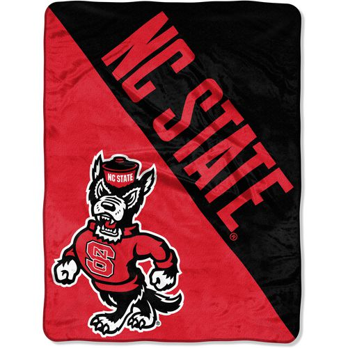 The Northwest Company North Carolina State University Halftone Micro Raschel Throw