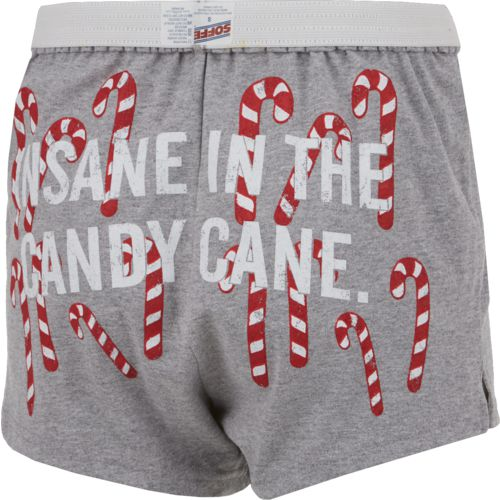 Soffe Women's Insane in the Candy Cane Holiday Short