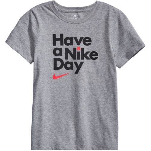 Nike Girls' Have a Nike Day Short Sleeve T-shirt - view number 4