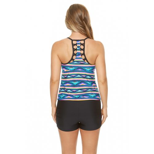 BCG Women's Electric Aztec Tankini - view number 1