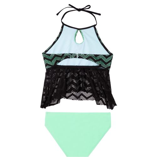O'Rageous Girls' Endless Crochet 2-Piece Tankini - view number 2