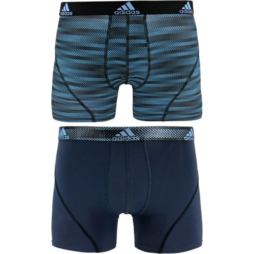 adidas Men's Sport Performance climalite Graphic Trunks 2-Pack - view number 1