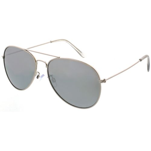 Maverick Thin Metal Aviator Sunglasses