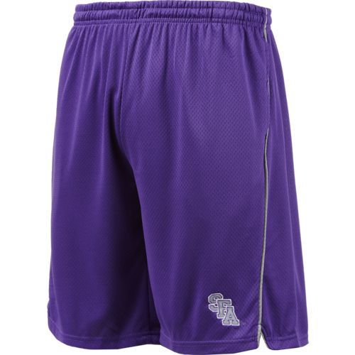 Colosseum Athletics Men's Stephen F. Austin State University Embroidered Mesh Shorts