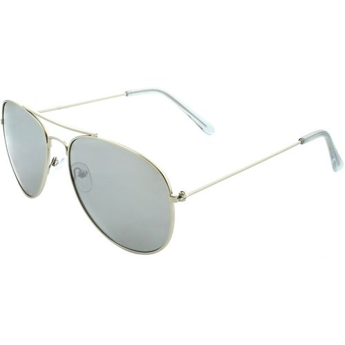 SOL PWR Thin Metal Aviator Sunglasses