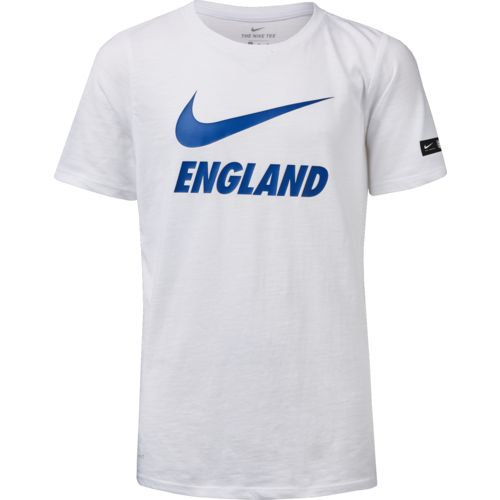 Nike Boys' England Football Dry Short Sleeve T-shirt