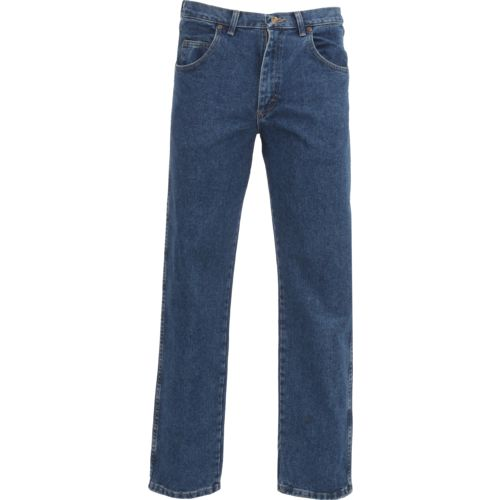 wrangler rugged wear men's relaxed fit jean | academy