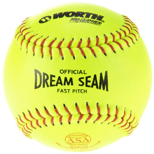"Worth 11"" Dream Seam Fast-Pitch Softball"