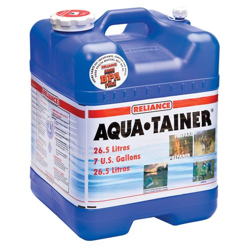Display product reviews for Reliance Aqua-Tainer 7-Gallon Water Container