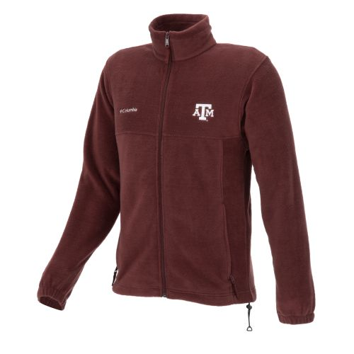 Columbia Sportswear Men's Texas A&M Full-Zip Flanker Jacket