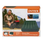 INTEX Downy Twin-Size Airbed with Built-In Foot Pump - view number 3