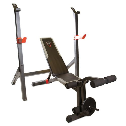 Display product reviews for CAP Barbell 2-Piece Deluxe Olympic Bench
