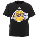 adidas Toddler Boys' Los Angeles Lakers Team Logo T-shirt