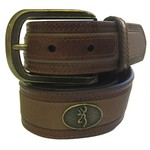 Browning Men's Buckmark Ornament Belt