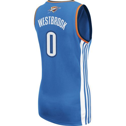 adidas Women's Russell Westbrook Oklahoma City Thunder Road Jersey - view number 2