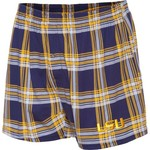 Concepts Sport Men's Louisiana State University Millennium Plaid Boxer