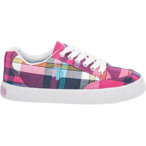 Image for U.S. Polo Girls' Shelley Plaid Athletic Lifestyle Shoes from Academy