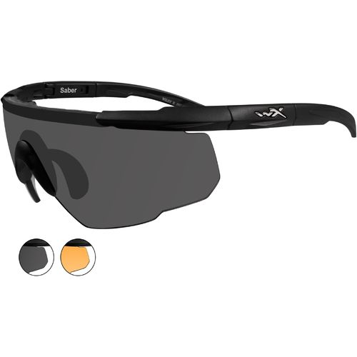 Wiley X Men's Changeable Saber Advanced Sunglasses