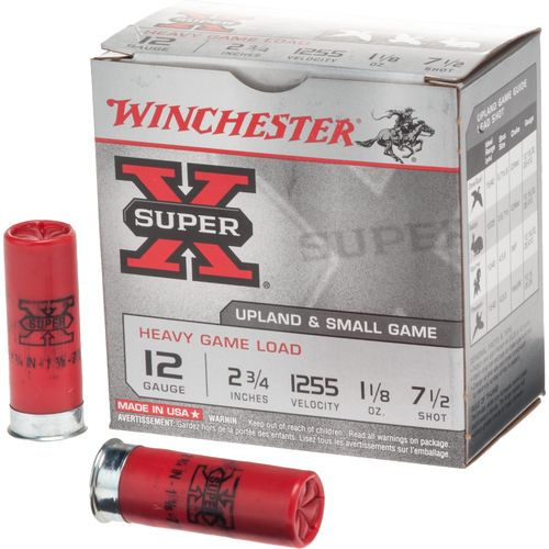 Winchester Super-X® Game and Field Loads 12 Gauge 7.5 Shotshells