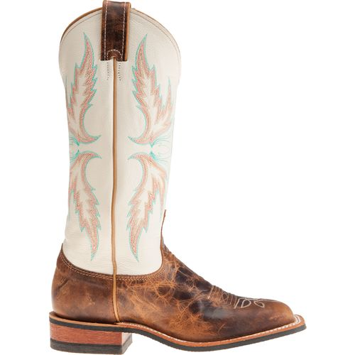 Justin Women's Bent Rail Puma Cowhide Western Boots