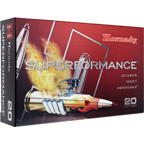 Hornady Superformance® SST® 6.5mm Creedmoor 129-Grain Rifle Ammunition