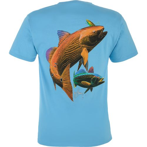 Guy Harvey Men's Smokin' Hot Short Sleeve Pocket T-shirt