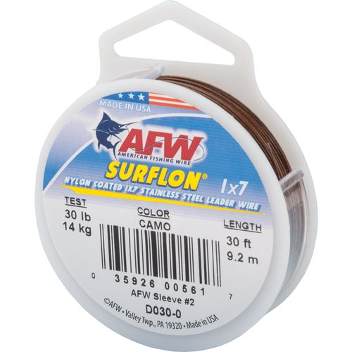 American Fishing Wire Surflon 30 lbs - 30 ft Leader Wire