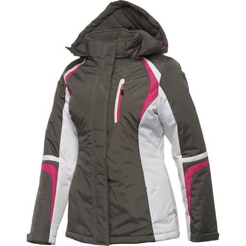 Magellan Outdoors  Women s Stretch Fabric Insulated Ski Jacket