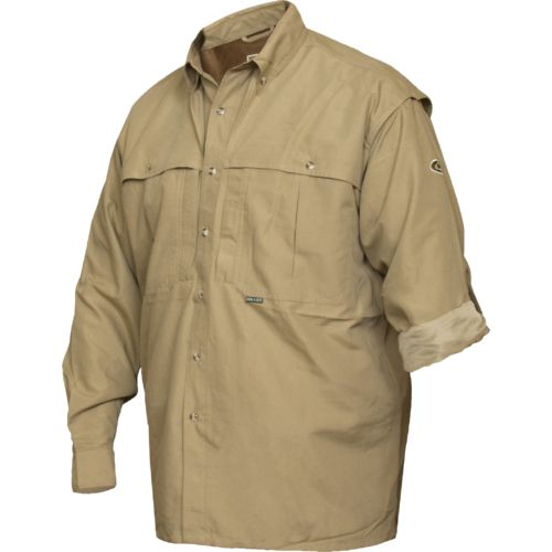 Drake Waterfowl Men's Wing Shooters Long Sleeve Hunting Shirt