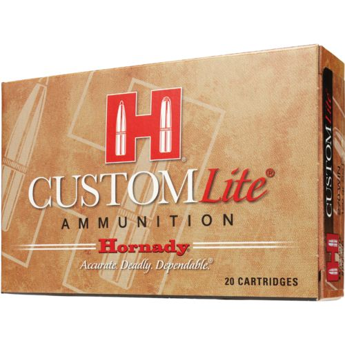 Display product reviews for Hornady SST® Custom Lite® .308 Winchester 125-Grain Centerfire Rifle Ammunition